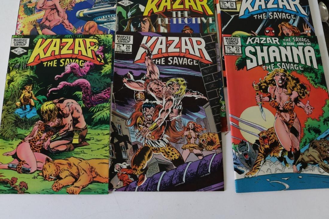 Full Set Marvel, Kazar the Savage #1- 34 - 10