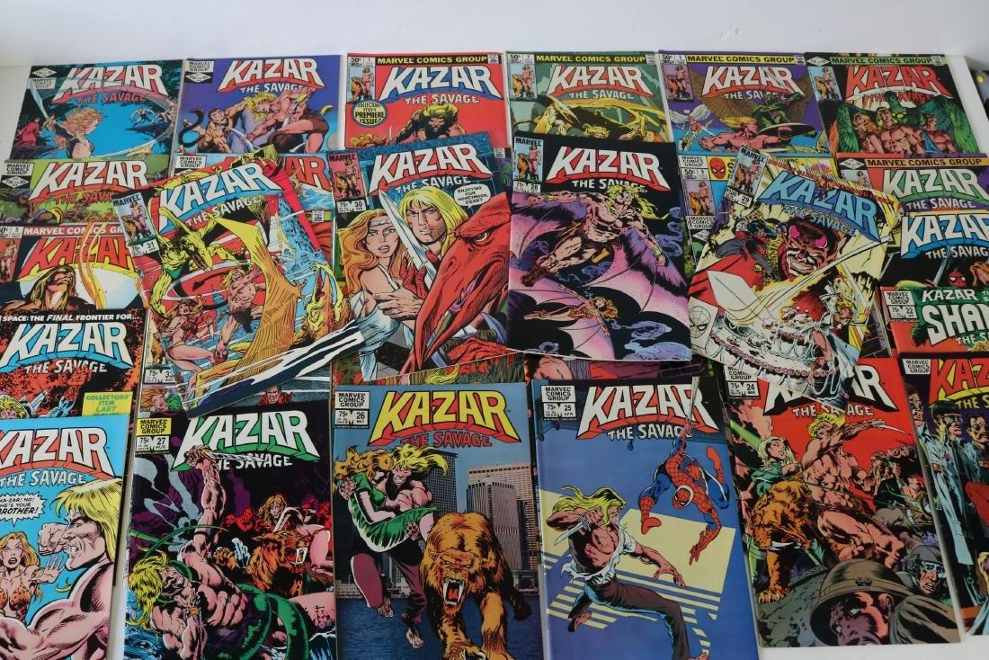 Full Set Marvel, Kazar the Savage #1- 34