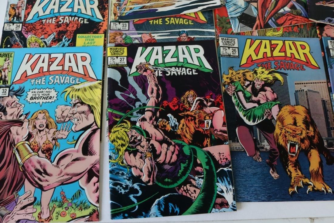 Full Set Marvel, Kazar the Savage #1- 34 - 2