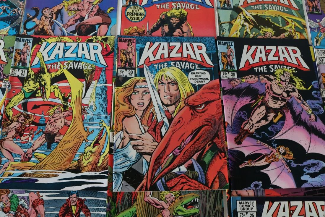 Full Set Marvel, Kazar the Savage #1- 34 - 3