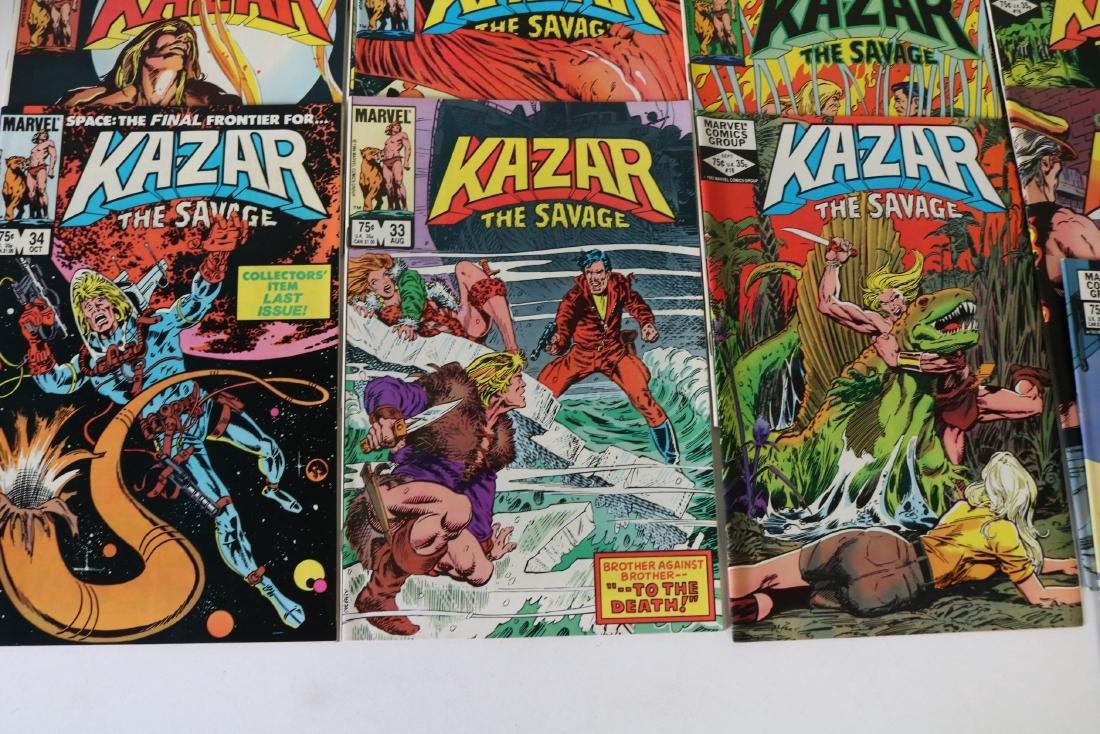 Full Set Marvel, Kazar the Savage #1- 34 - 4