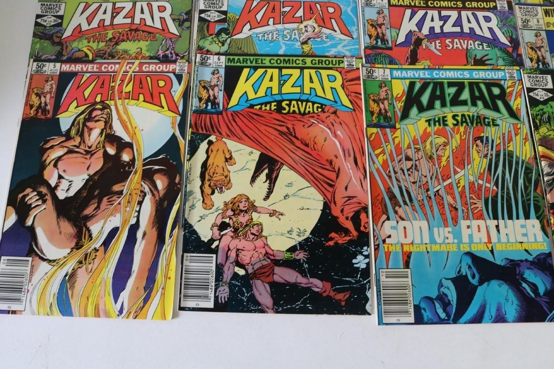 Full Set Marvel, Kazar the Savage #1- 34 - 5