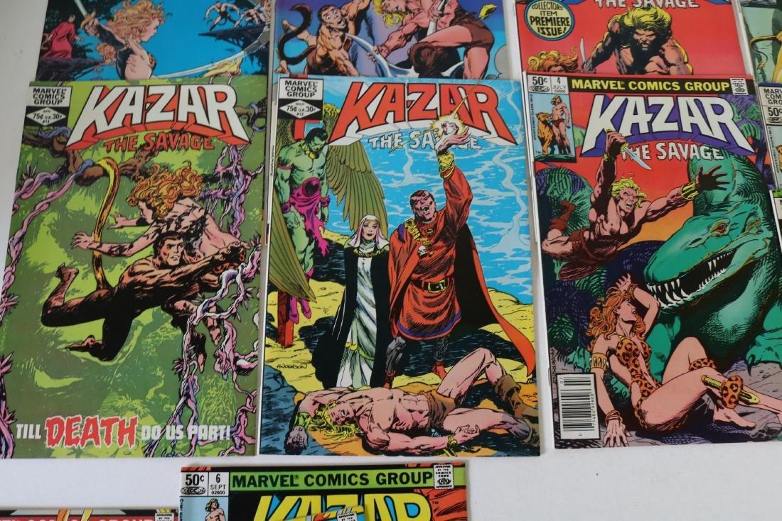 Full Set Marvel, Kazar the Savage #1- 34 - 6