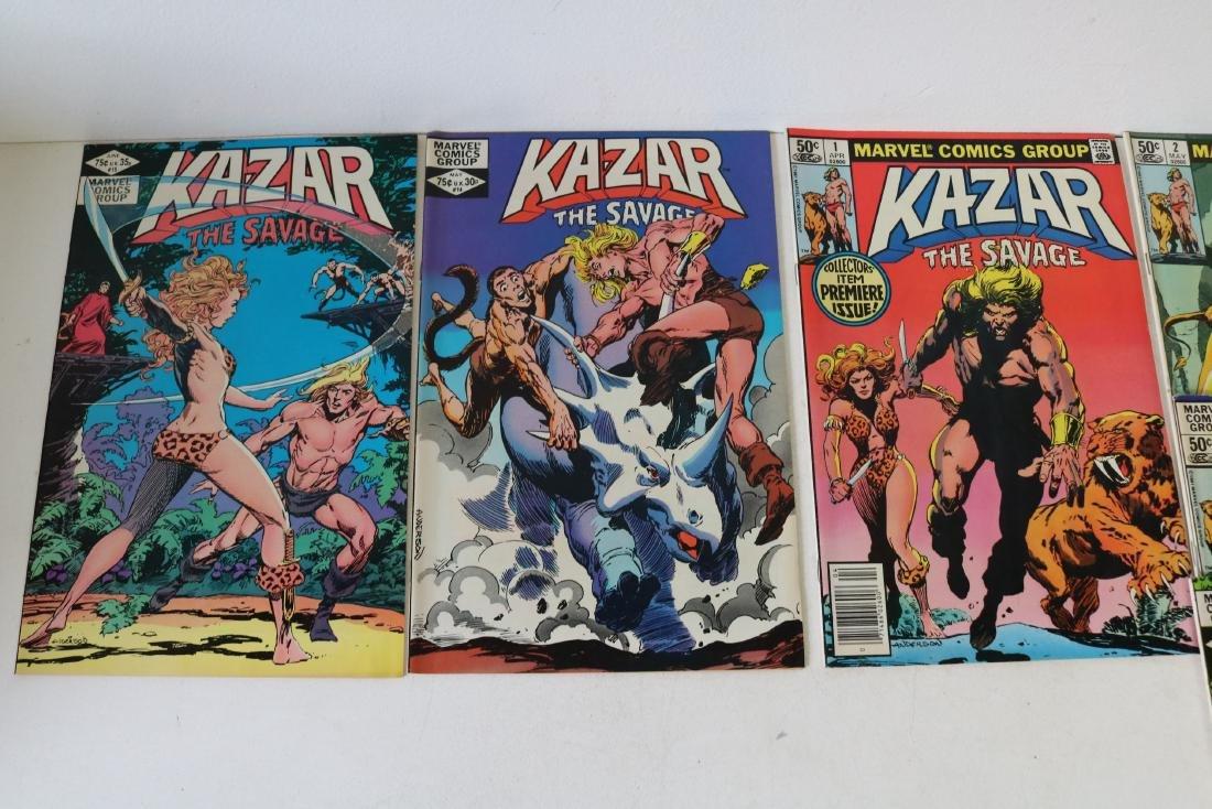 Full Set Marvel, Kazar the Savage #1- 34 - 7