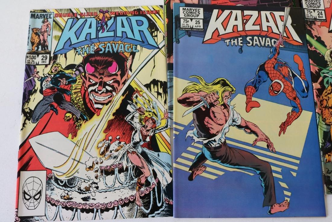 Full Set Marvel, Kazar the Savage #1- 34 - 8