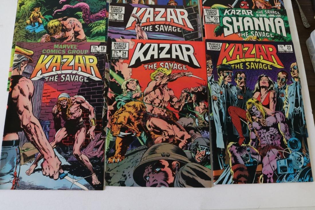 Full Set Marvel, Kazar the Savage #1- 34 - 9
