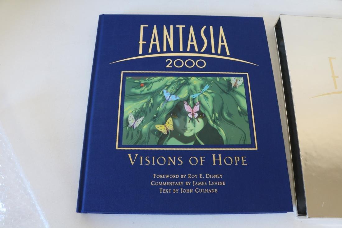 Roy Disney Signed Fantasia Hardcover Book - 3