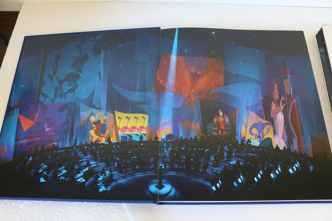 Roy Disney Signed Fantasia Hardcover Book - 4