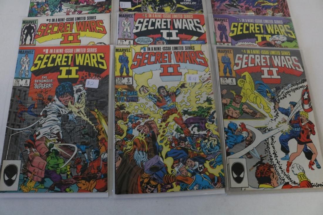 Secret Wars II, full set, #1-9 - 2