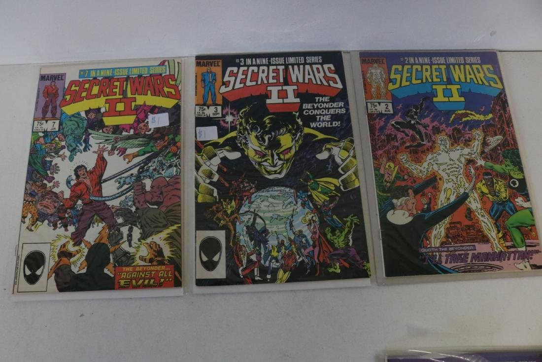 Secret Wars II, full set, #1-9 - 4