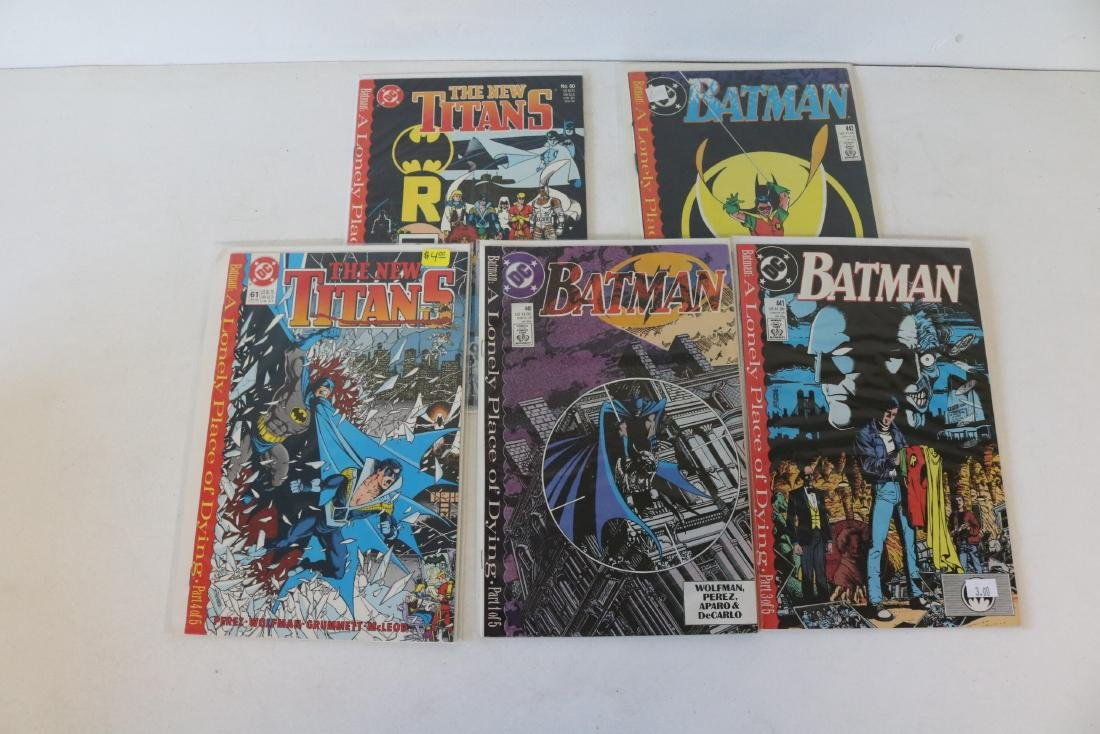 Complete Batman, Lonely Place for Dying