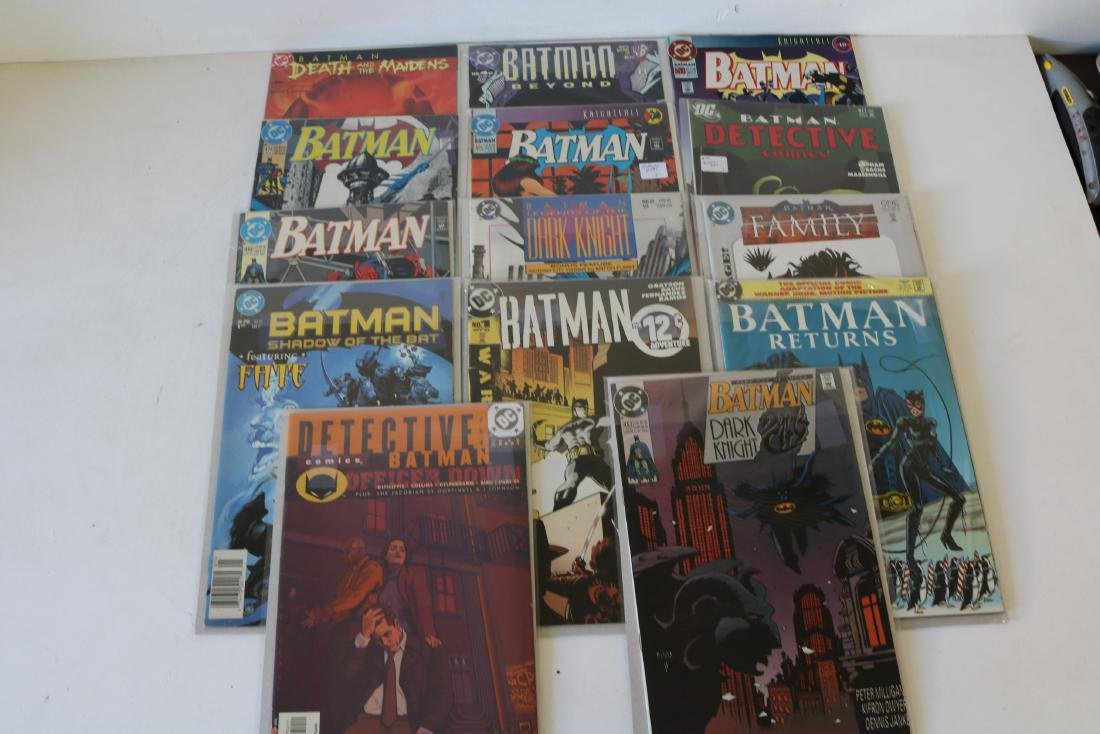 Lot of 14 Batman comics
