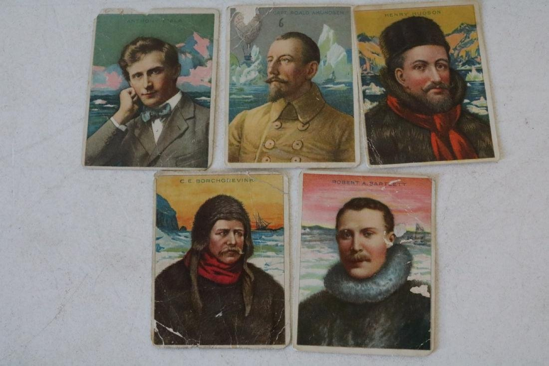 Lot of 13 Hassan The Oriental Smoke Cigarette Cards - 4