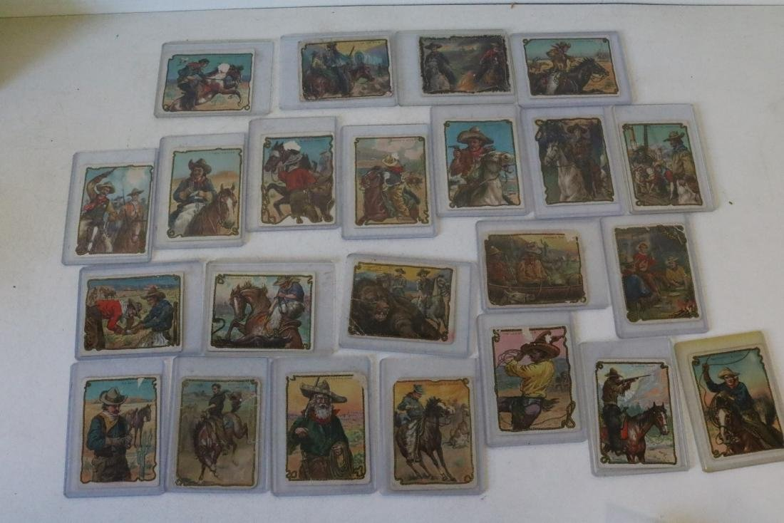 Lot of 23 Hassan Cork Tip Cigarette Cards