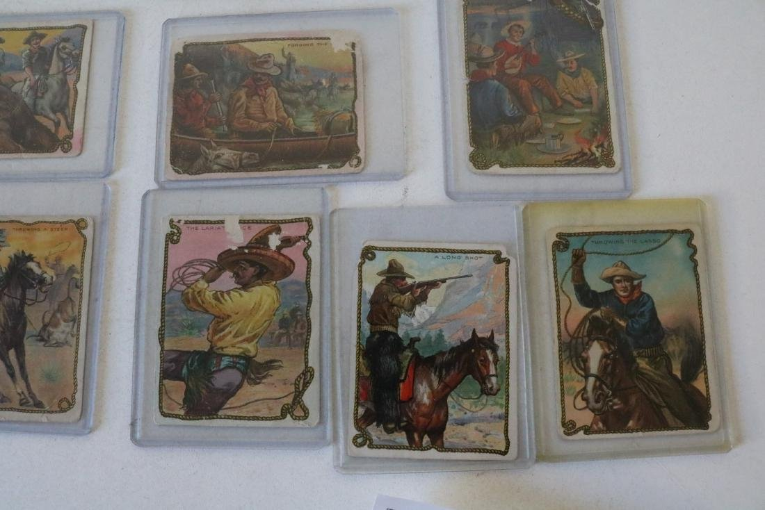Lot of 23 Hassan Cork Tip Cigarette Cards - 5