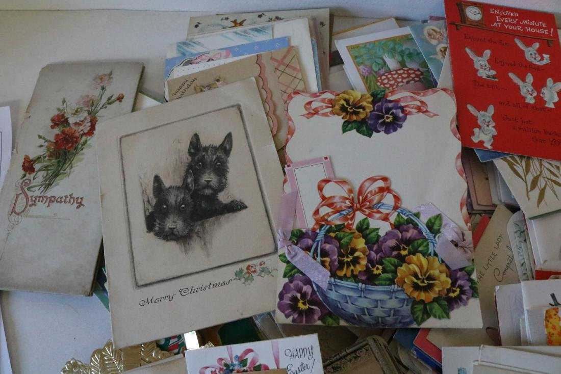 Huge Lot of Vintage Greeting Cards - 4
