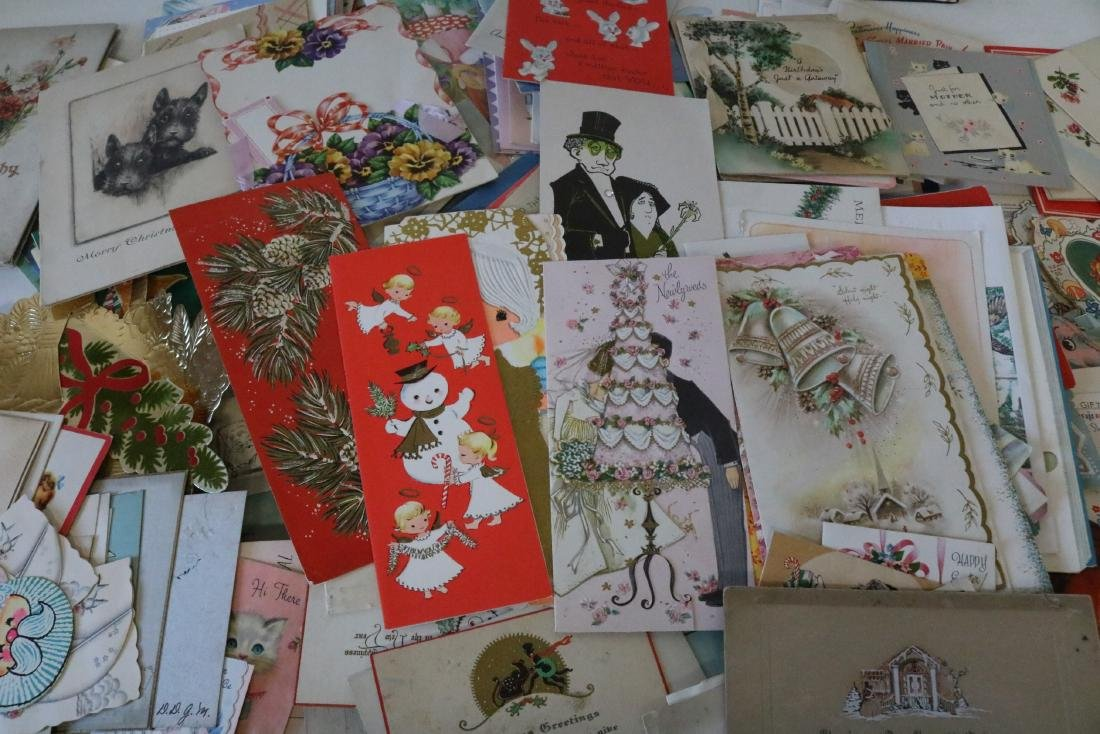 Huge Lot of Vintage Greeting Cards - 5