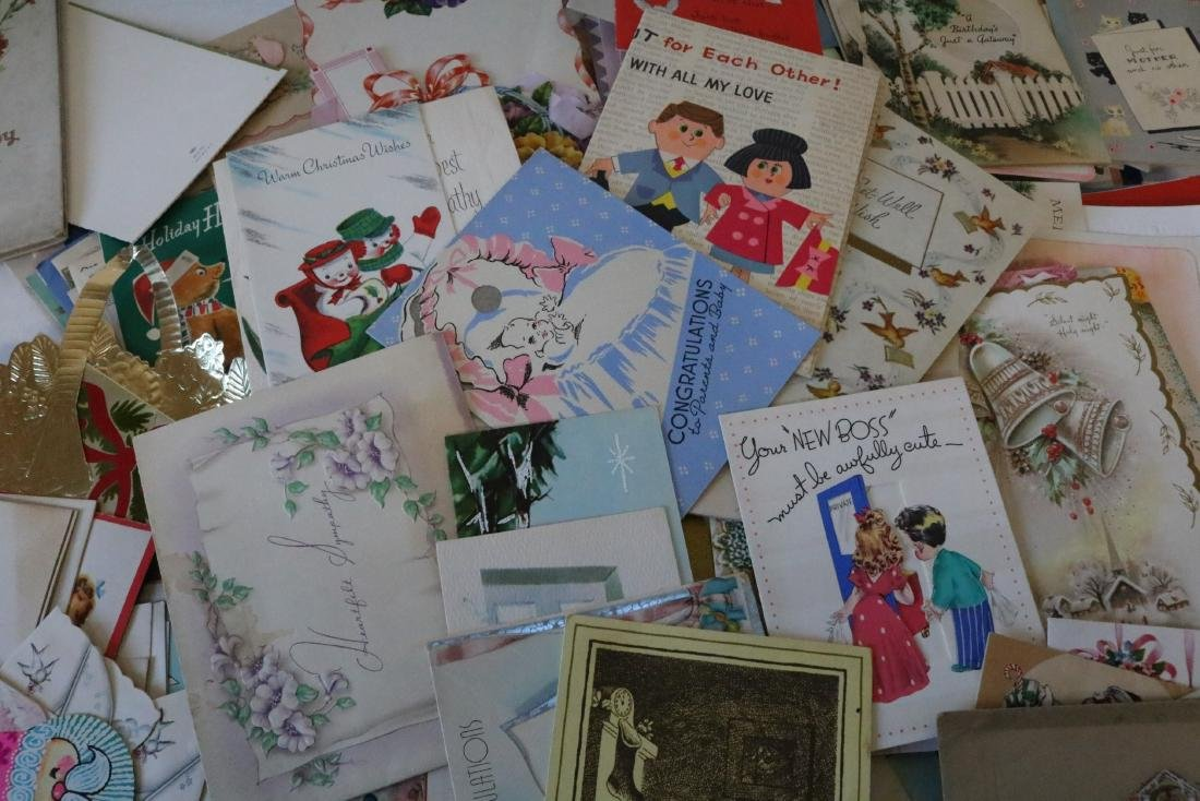 Huge Lot of Vintage Greeting Cards - 6