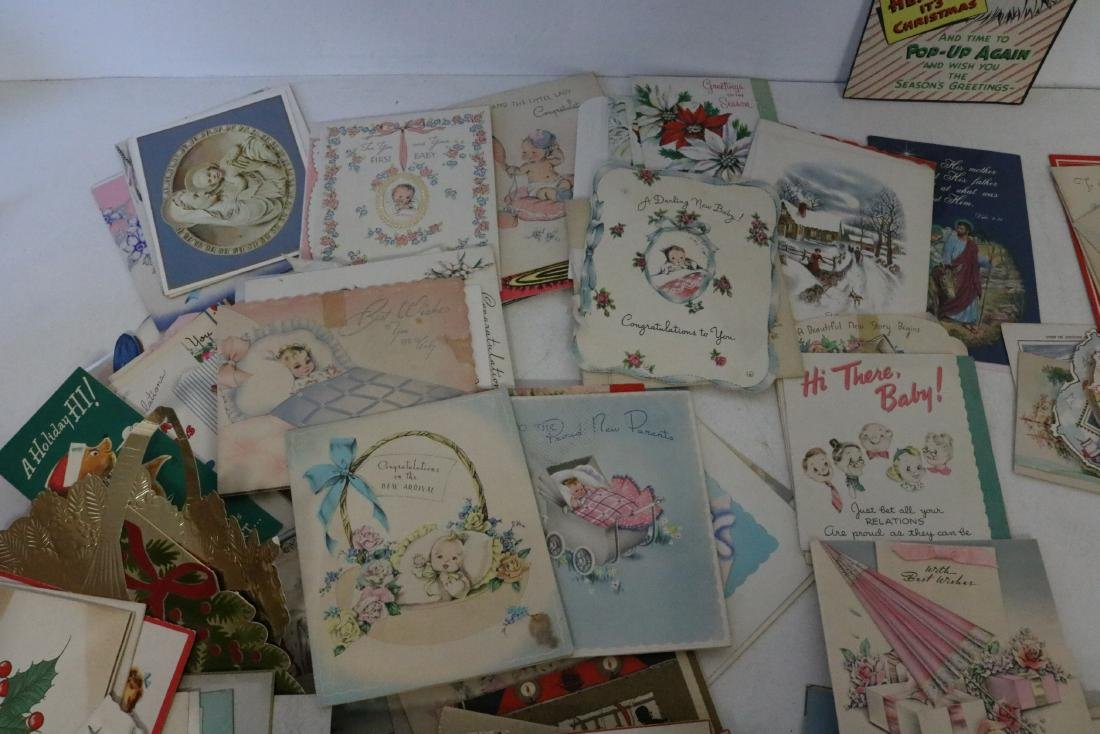 Huge Lot of Vintage Greeting Cards - 7