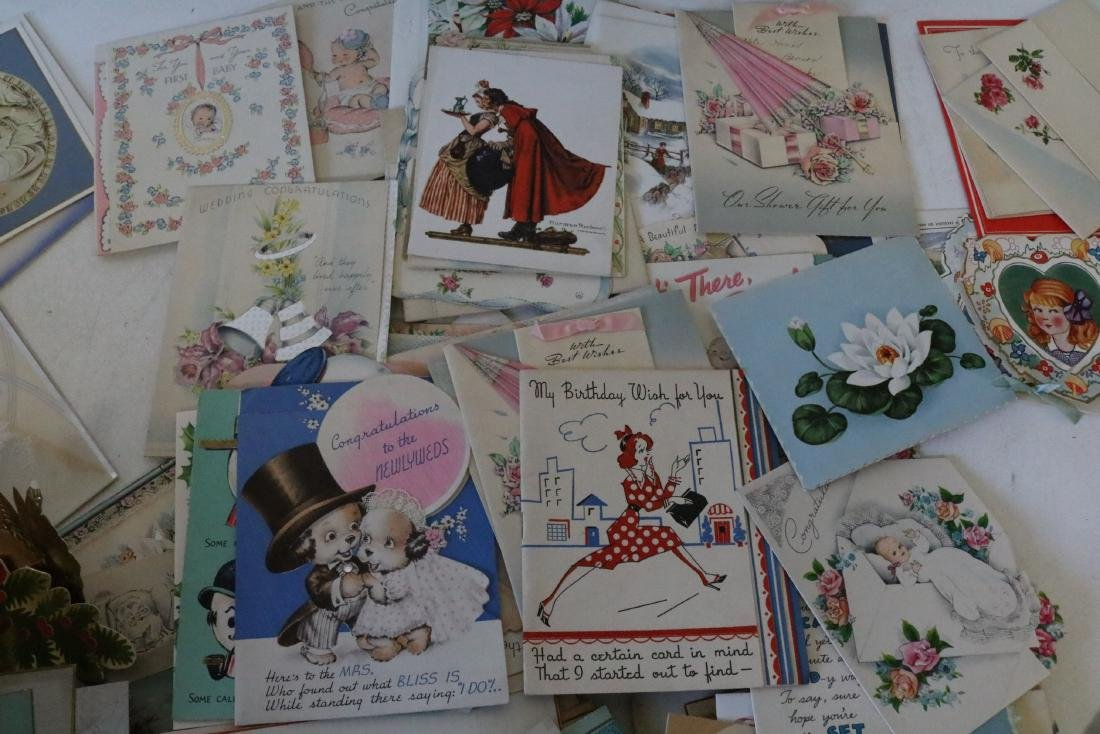 Huge Lot of Vintage Greeting Cards - 8
