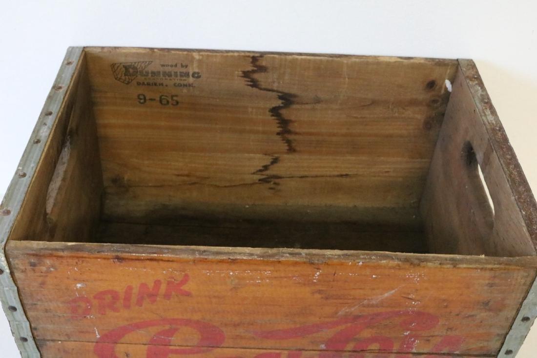 1965 Pepsi Cola Wood Crate - 2