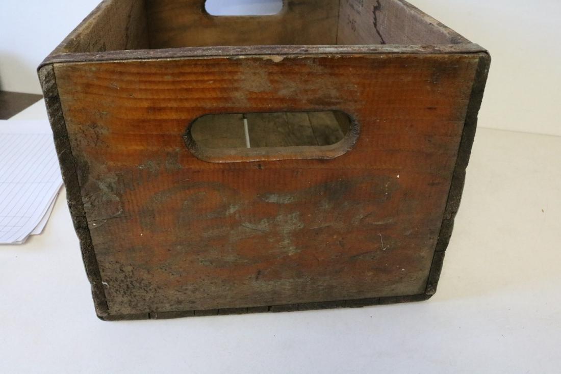 1965 Pepsi Cola Wood Crate - 6