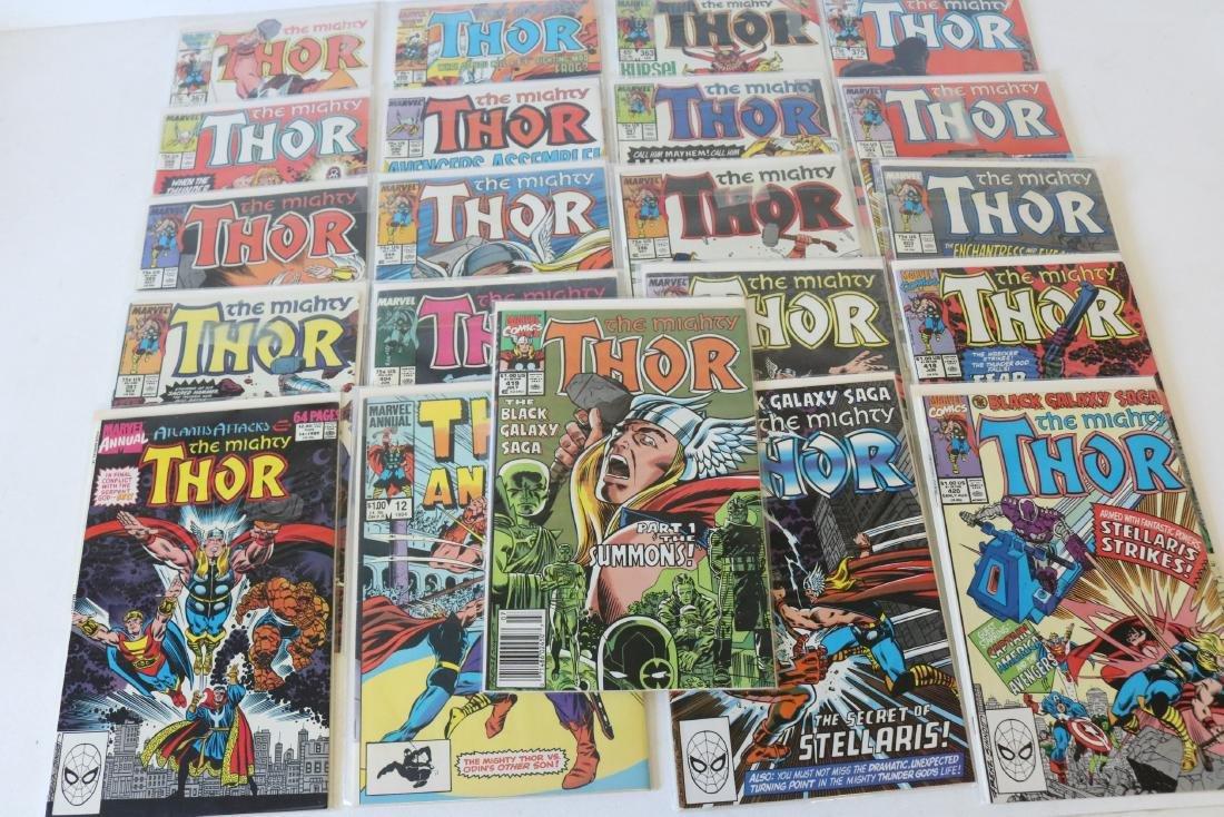 Lot of 21 Thor Marvel comics