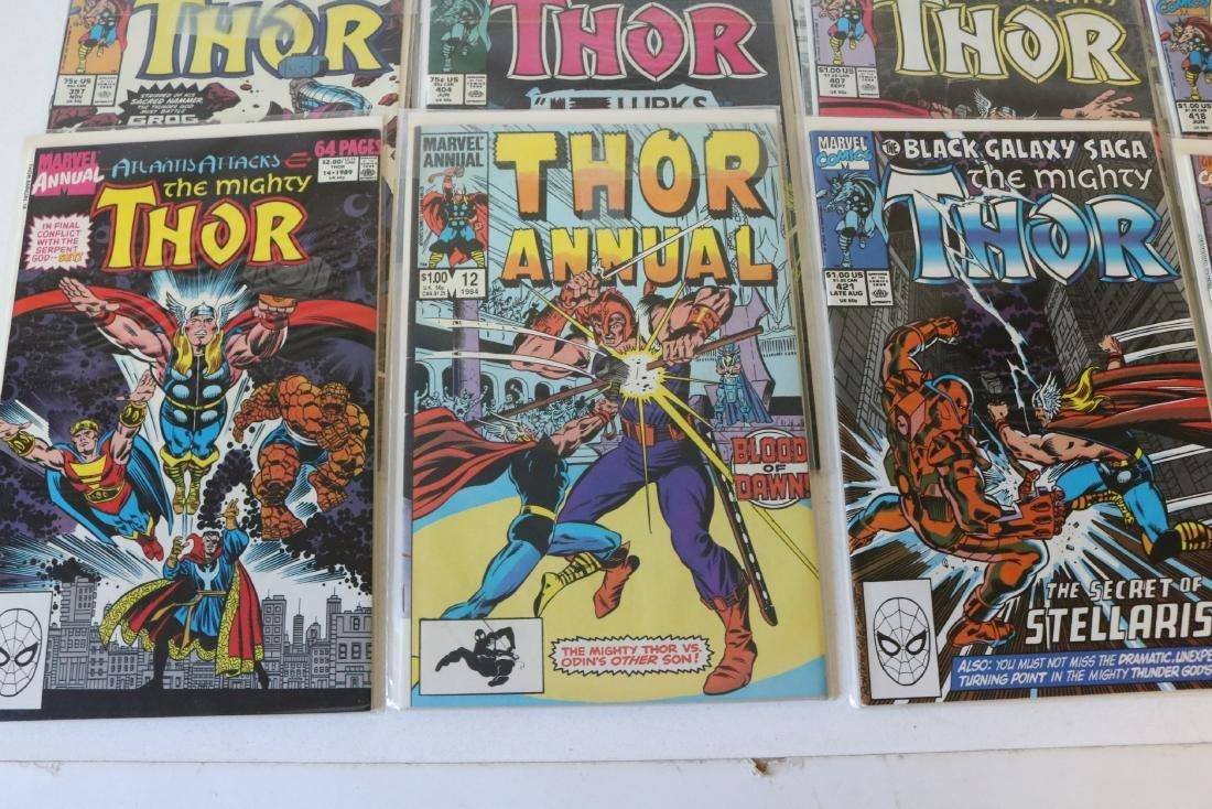 Lot of 21 Thor Marvel comics - 2