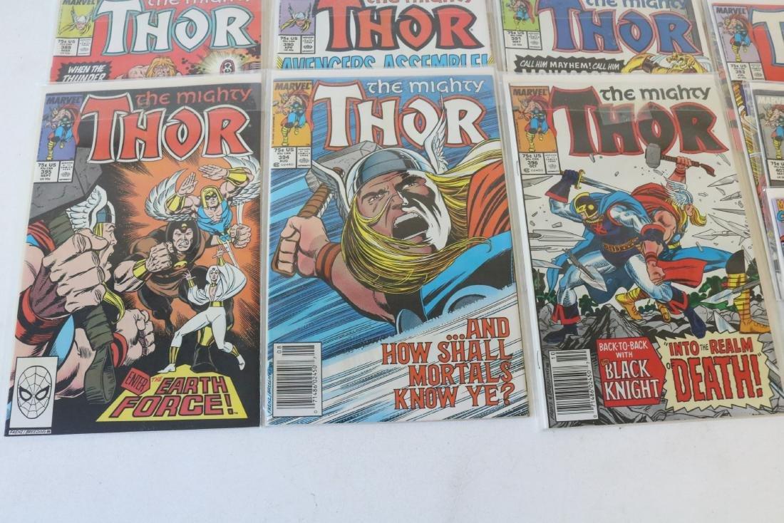 Lot of 21 Thor Marvel comics - 4