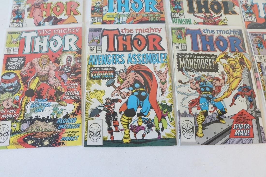 Lot of 21 Thor Marvel comics - 5