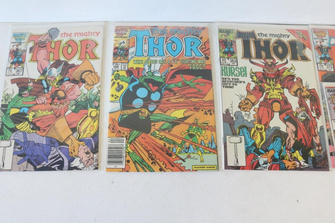 Lot of 21 Thor Marvel comics - 6