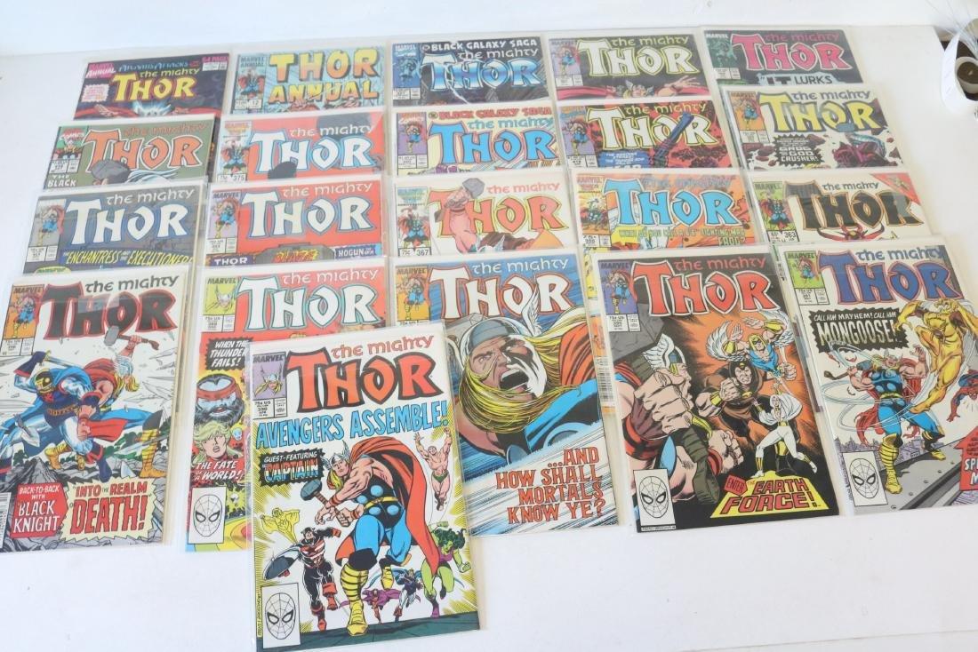 Lot of 21 Thor Marvel comics - 9