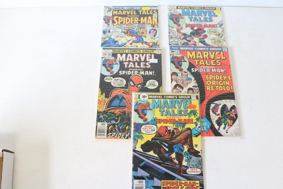 Lot of 5 nice Marvel Tales