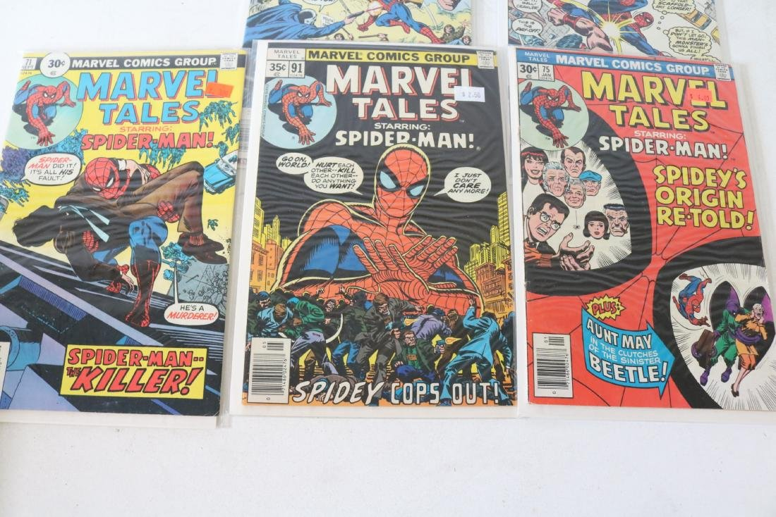 Lot of 5 nice Marvel Tales - 2