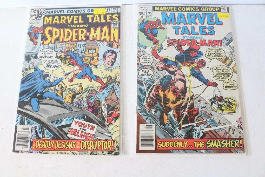 Lot of 5 nice Marvel Tales - 3