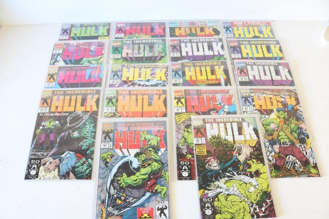 Lot of 18 Hulk comics