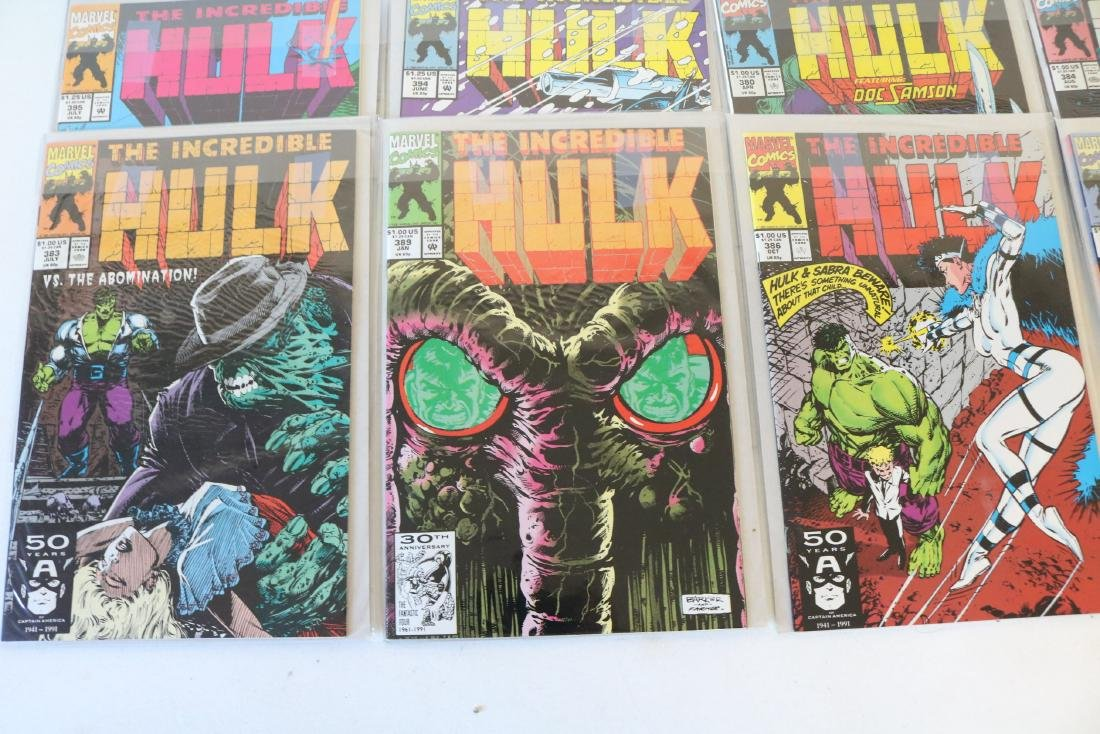 Lot of 18 Hulk comics - 2