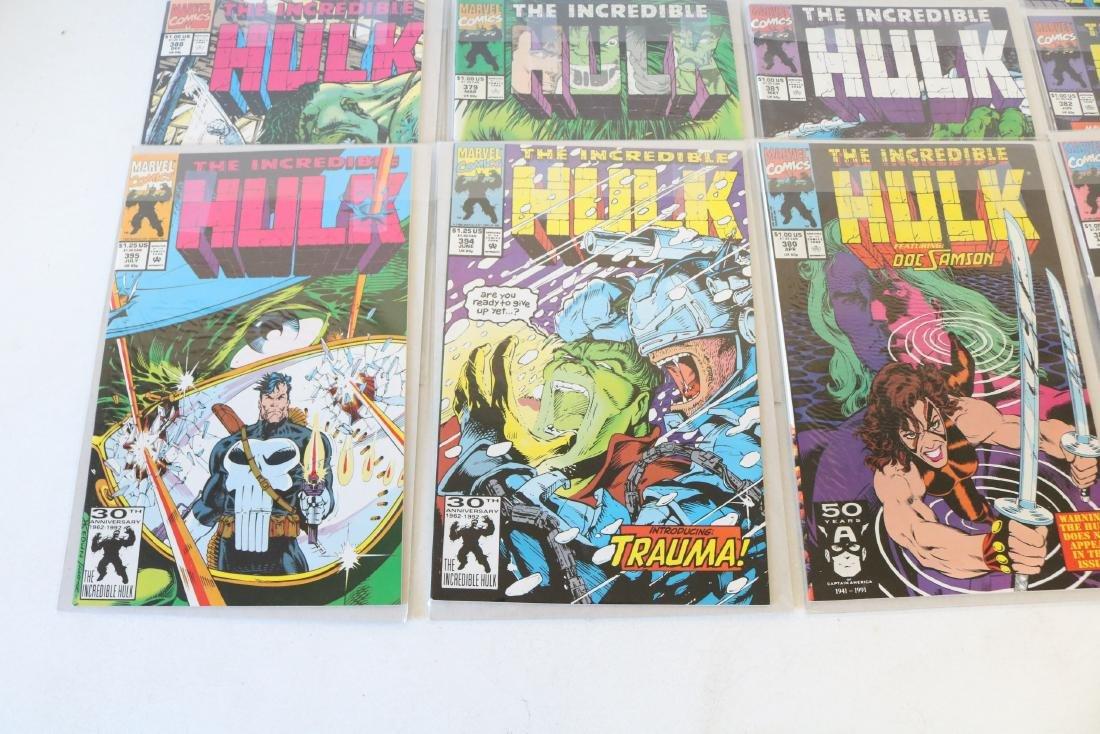 Lot of 18 Hulk comics - 3