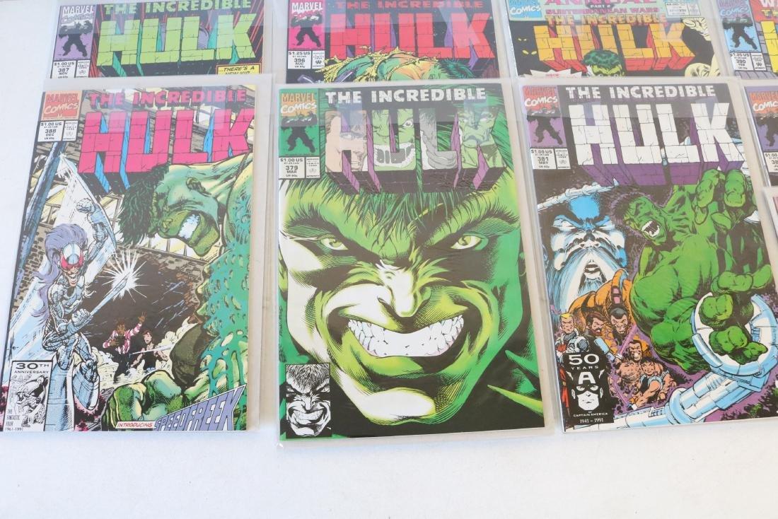 Lot of 18 Hulk comics - 4