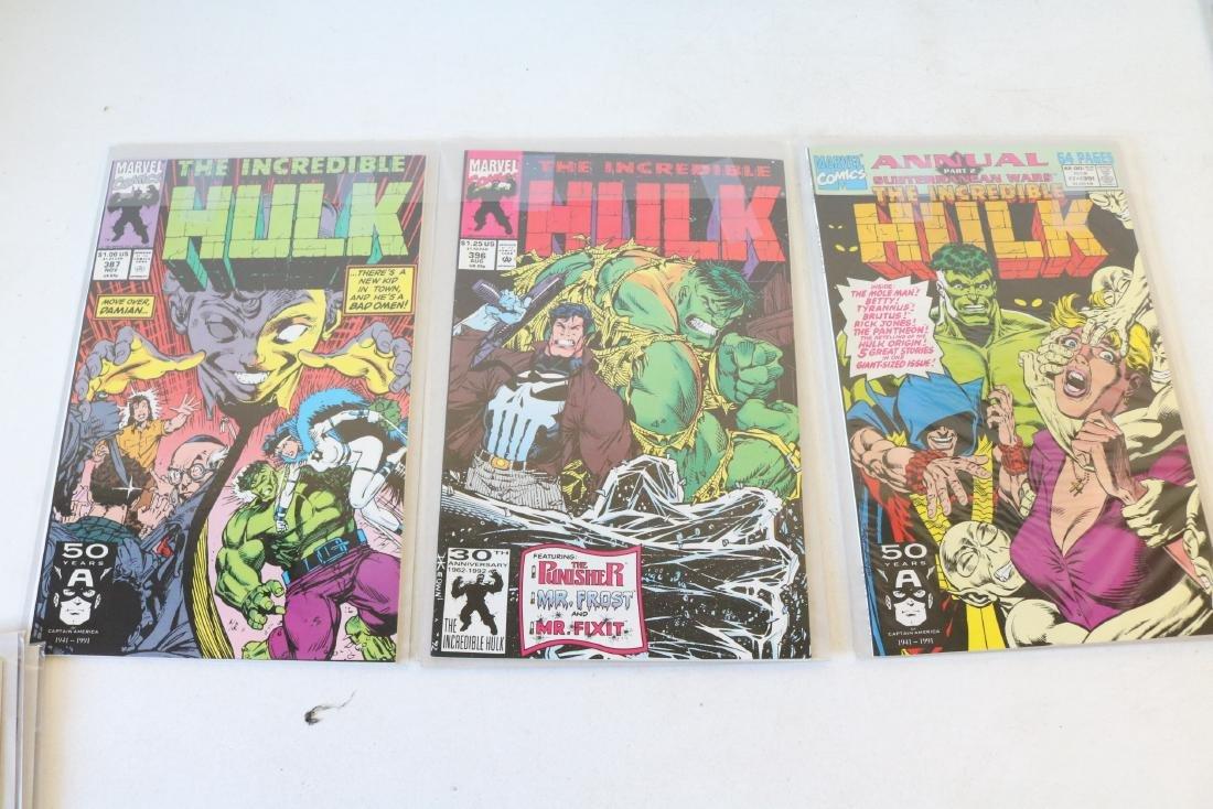 Lot of 18 Hulk comics - 5