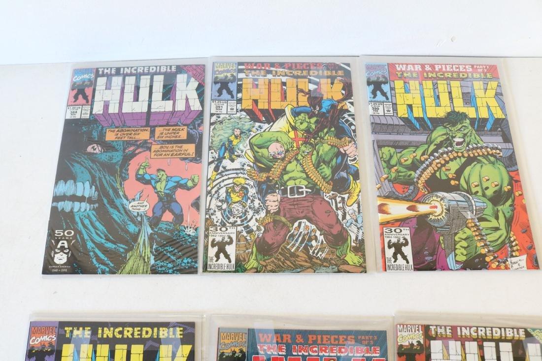 Lot of 18 Hulk comics - 6