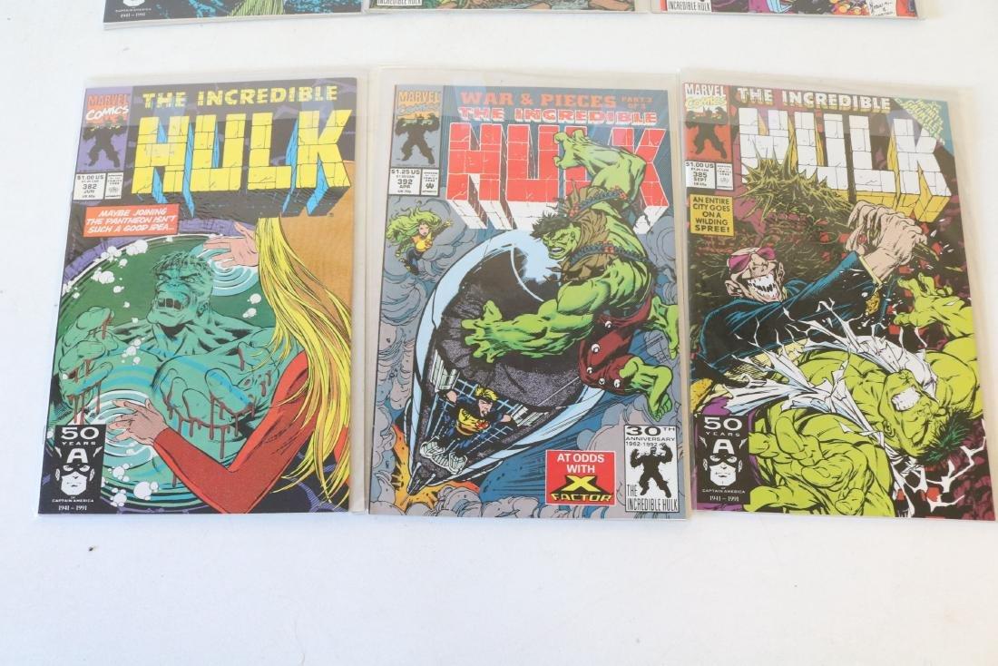 Lot of 18 Hulk comics - 7