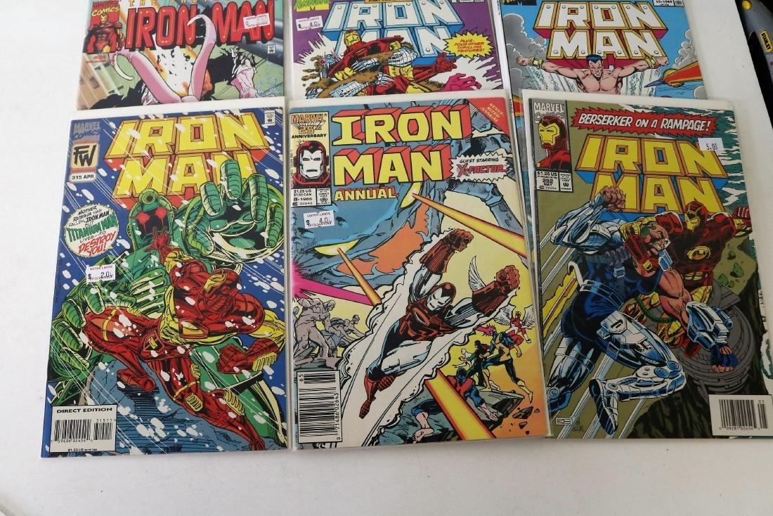 Lot of 30 Iron Man comics - 10