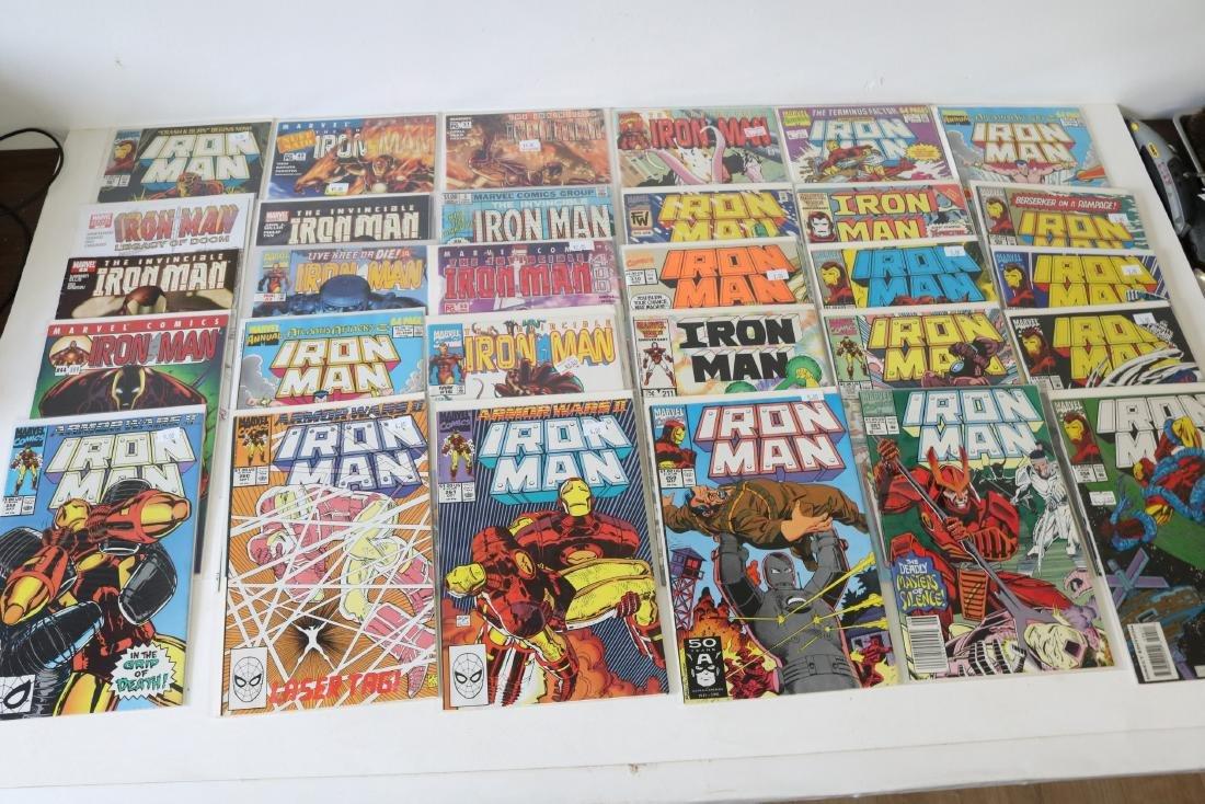 Lot of 30 Iron Man comics