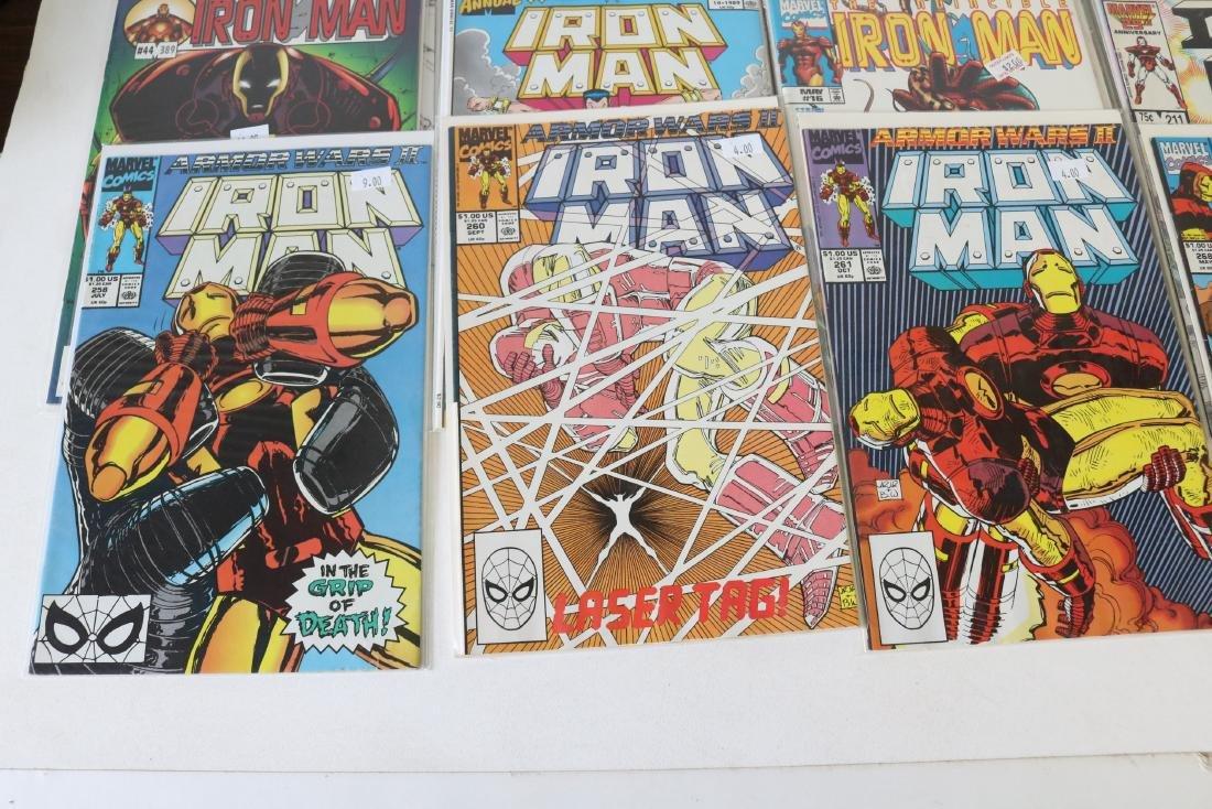 Lot of 30 Iron Man comics - 2