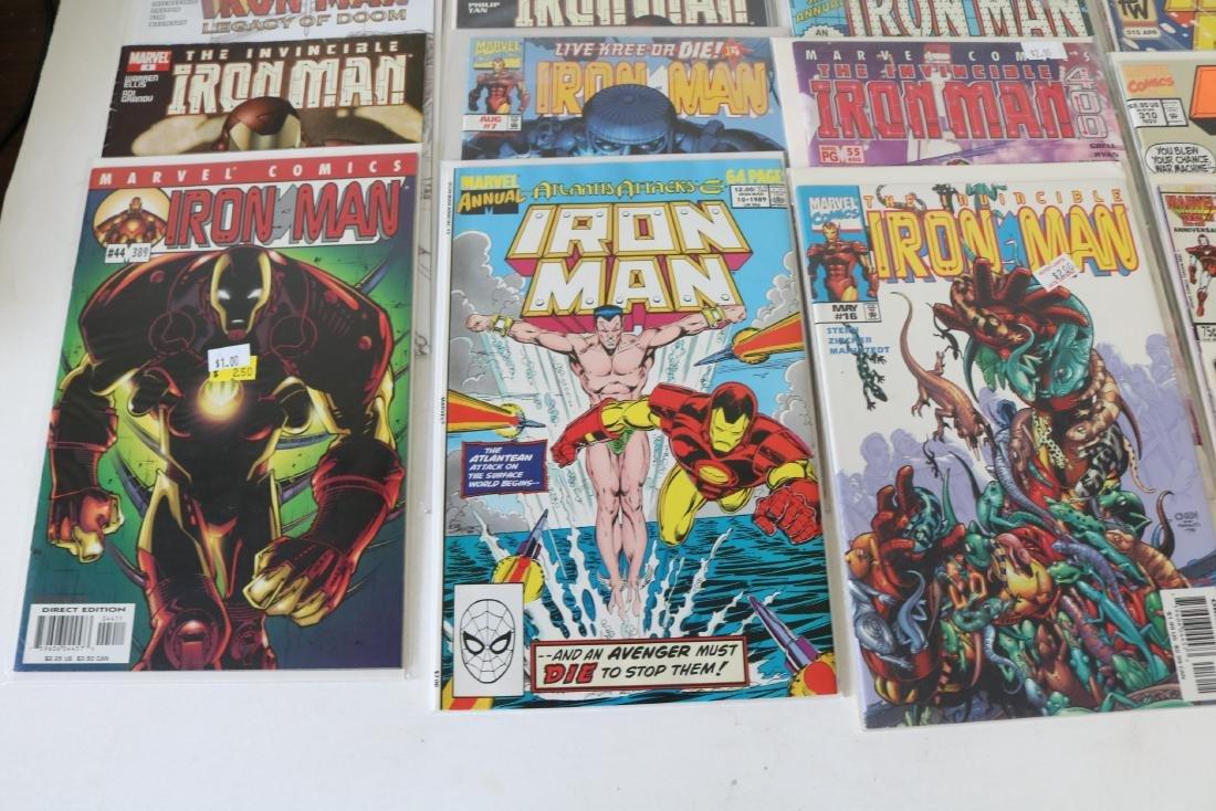 Lot of 30 Iron Man comics - 3