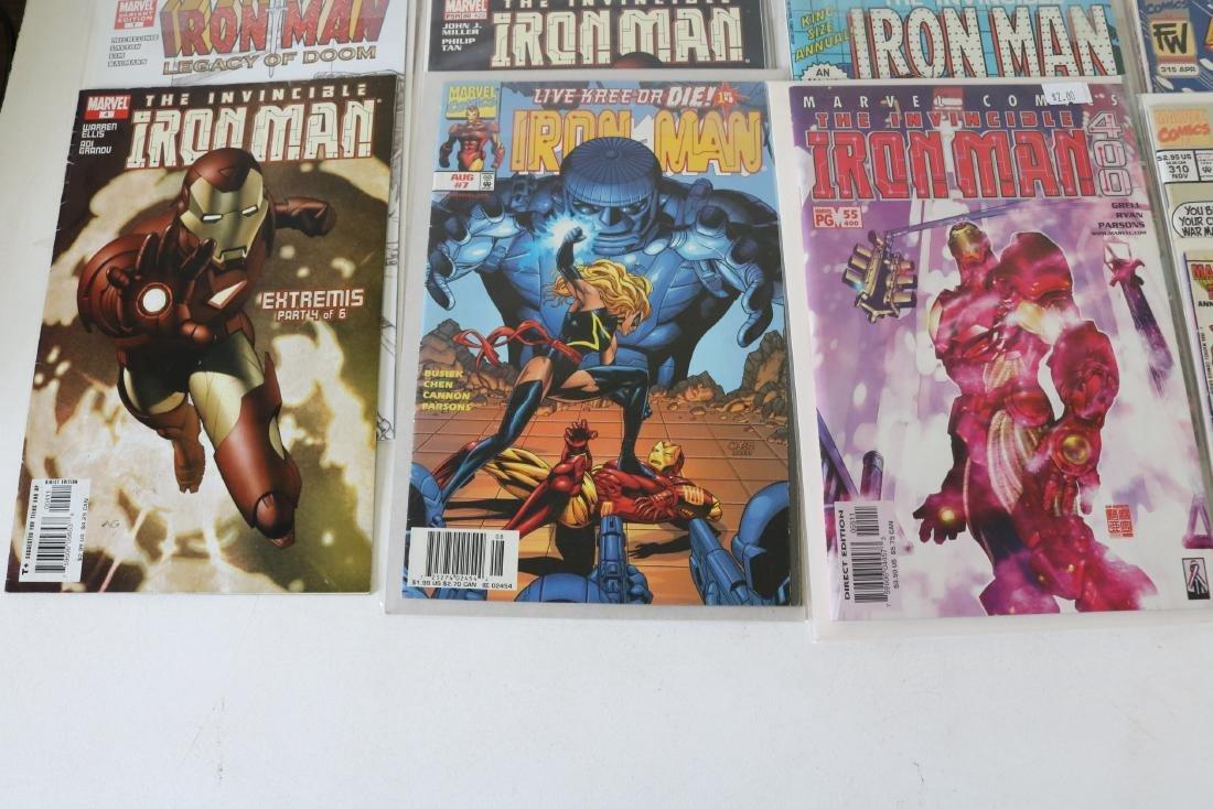 Lot of 30 Iron Man comics - 4