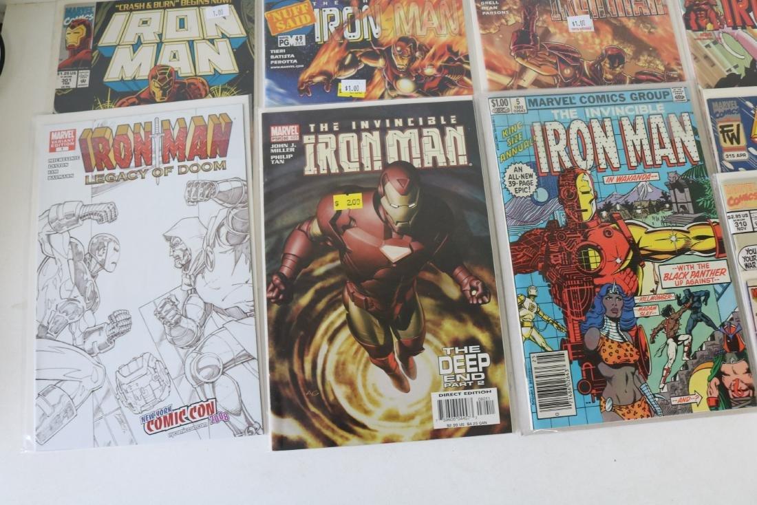 Lot of 30 Iron Man comics - 5