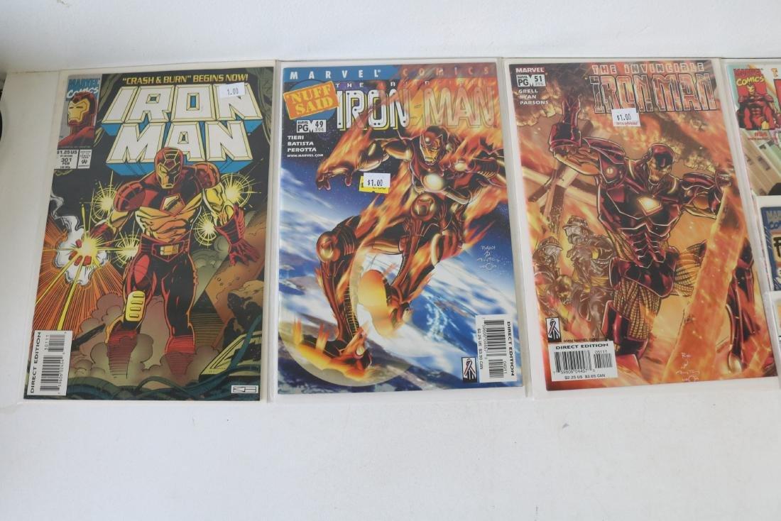 Lot of 30 Iron Man comics - 6