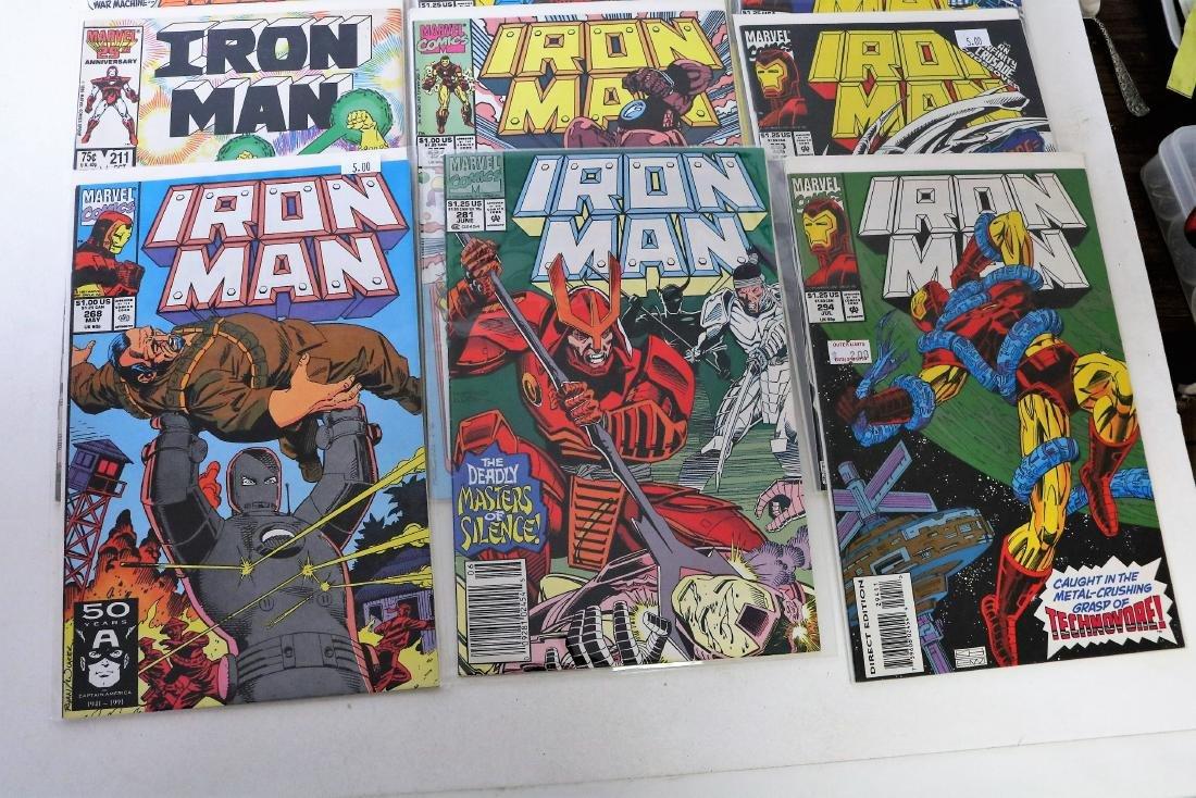 Lot of 30 Iron Man comics - 7